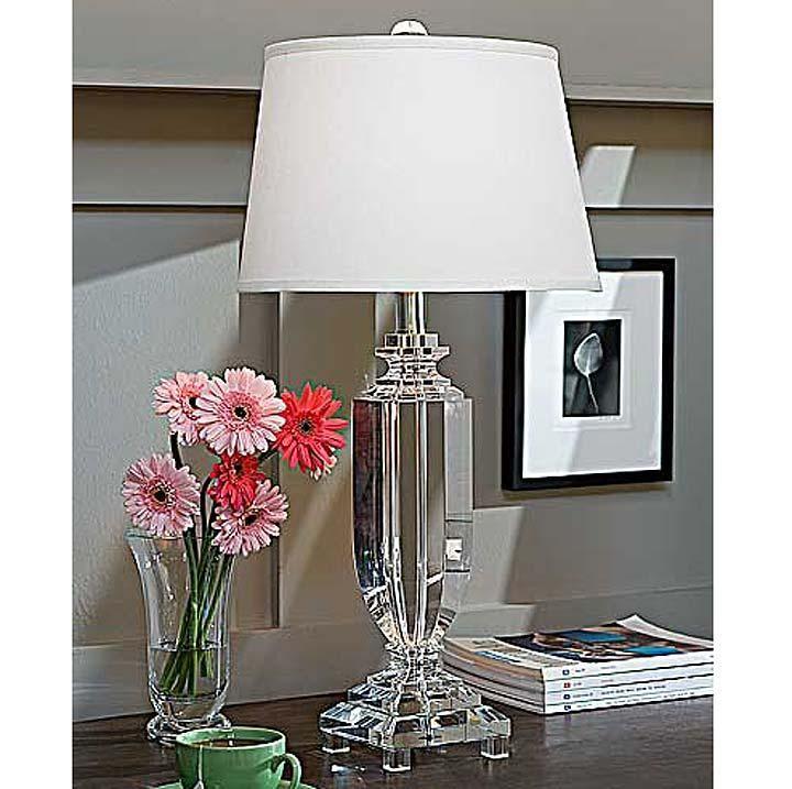 Wonderful Regina Andrew Crystal Tall Urn Table Lamp, 30H, At Shop Candelabra $522