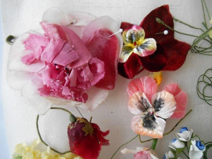 115 best vintage flowers images on pinterest vintage floral vintage flowers for dolls 3 mightylinksfo