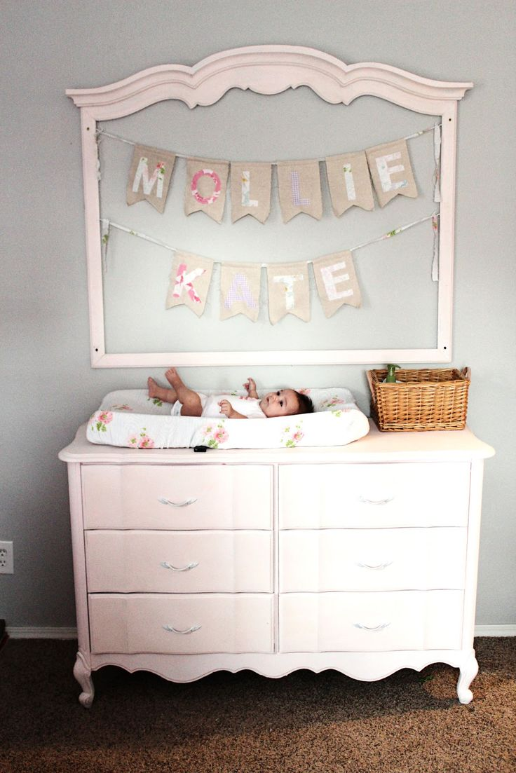 Fun Way To Re Purpose A Mirror Dresser Combo