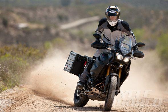 2014 Yamaha Super Tenere action shot