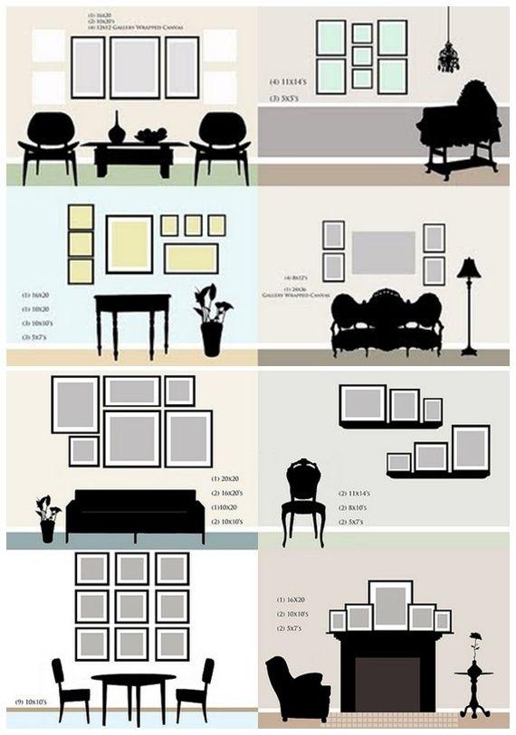 Fotowandgestaltung gefunden auf: http://wohnideen.minimalisti.com/dekoration/fotowand-gestalten-tipps-ideen.html