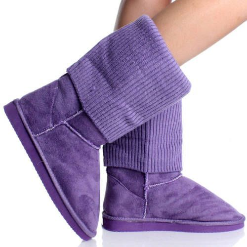 Purple Uggs! I have tan ones. I NEED these purple ones!!!