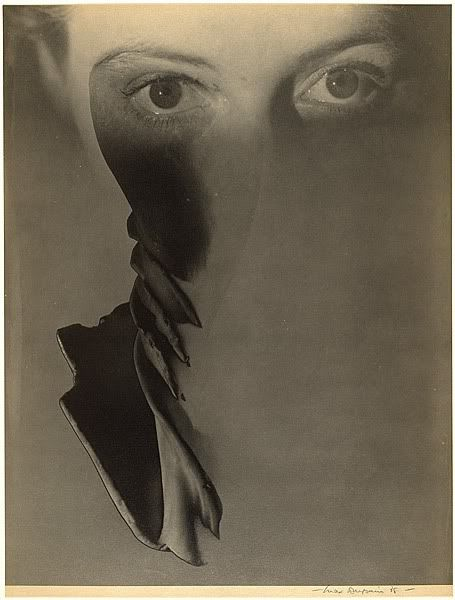 Surreal face of a woman, 1938, Max Dupain.Australian Photographer (1911 - 1992)
