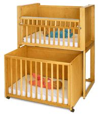 Bunkie Cribs, Baby Cribs, Hardwood Nursery Furniture, Rocking Chairs, Stackable Cribs, Double Double Cribs and Whitney Brothers