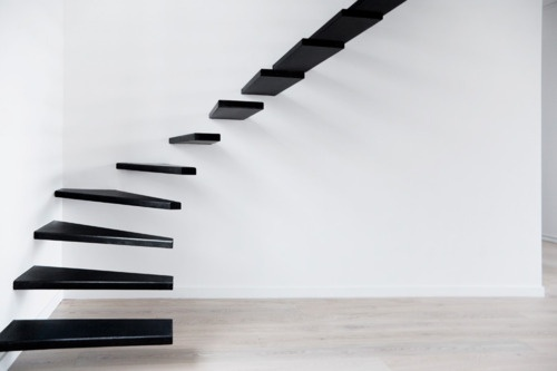 staircase in paris designed by ecole.