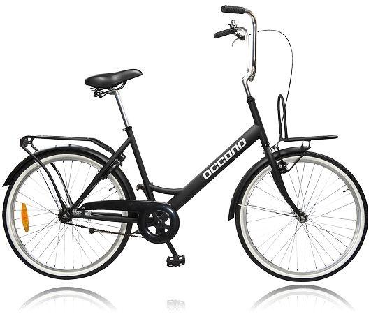 Cykel som passar för kortare sträckor inne i city. OCCANO U CITY U317. Se alla cyklar på stadium.se - http://www.stadium.se/sport/cykel/cyklar