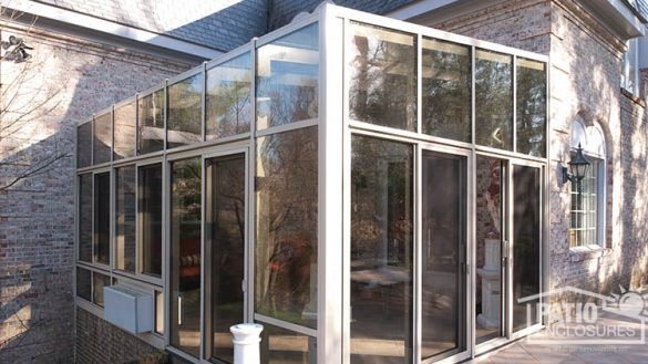 Image Result For Outdoor Glass Enclosed Workout Rooms Farmhouse