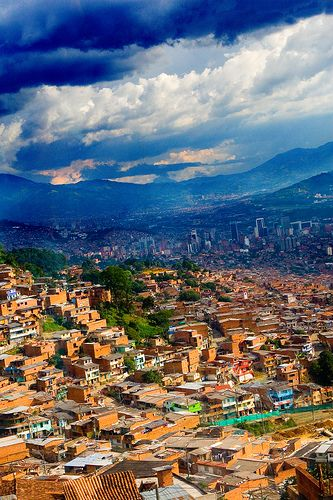 Medellín, Colombia Desde Metrocable