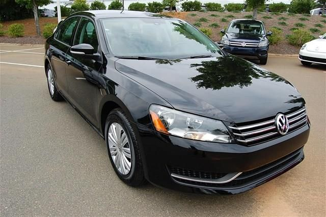 2014 Volkswagen Passat S S 4dr Sedan 6A Sedan 4 Doors Black for sale in Huntersville, NC Source: http://www.usedcarsgroup.com/used-volkswagen-for-sale-in-huntersville-nc