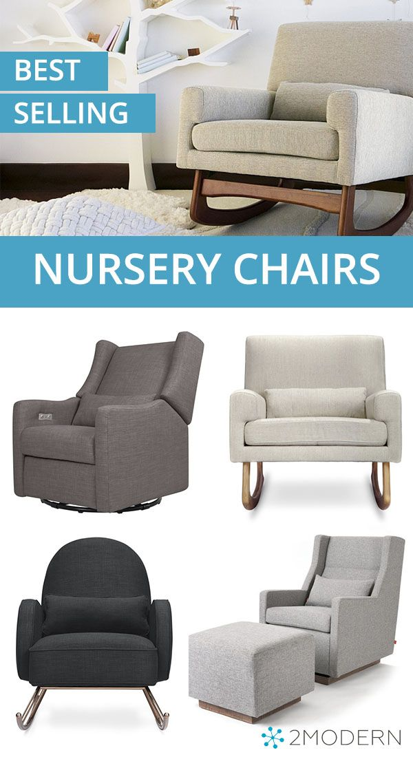 These Best Selling Modern Nursery Chairs Are The Perfect Fit For