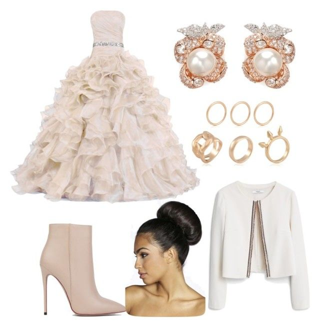 """""""Your special day"""" by hannahlee01 on Polyvore featuring Akira Black Label, Anabela Chan, MANGO and Boohoo"""