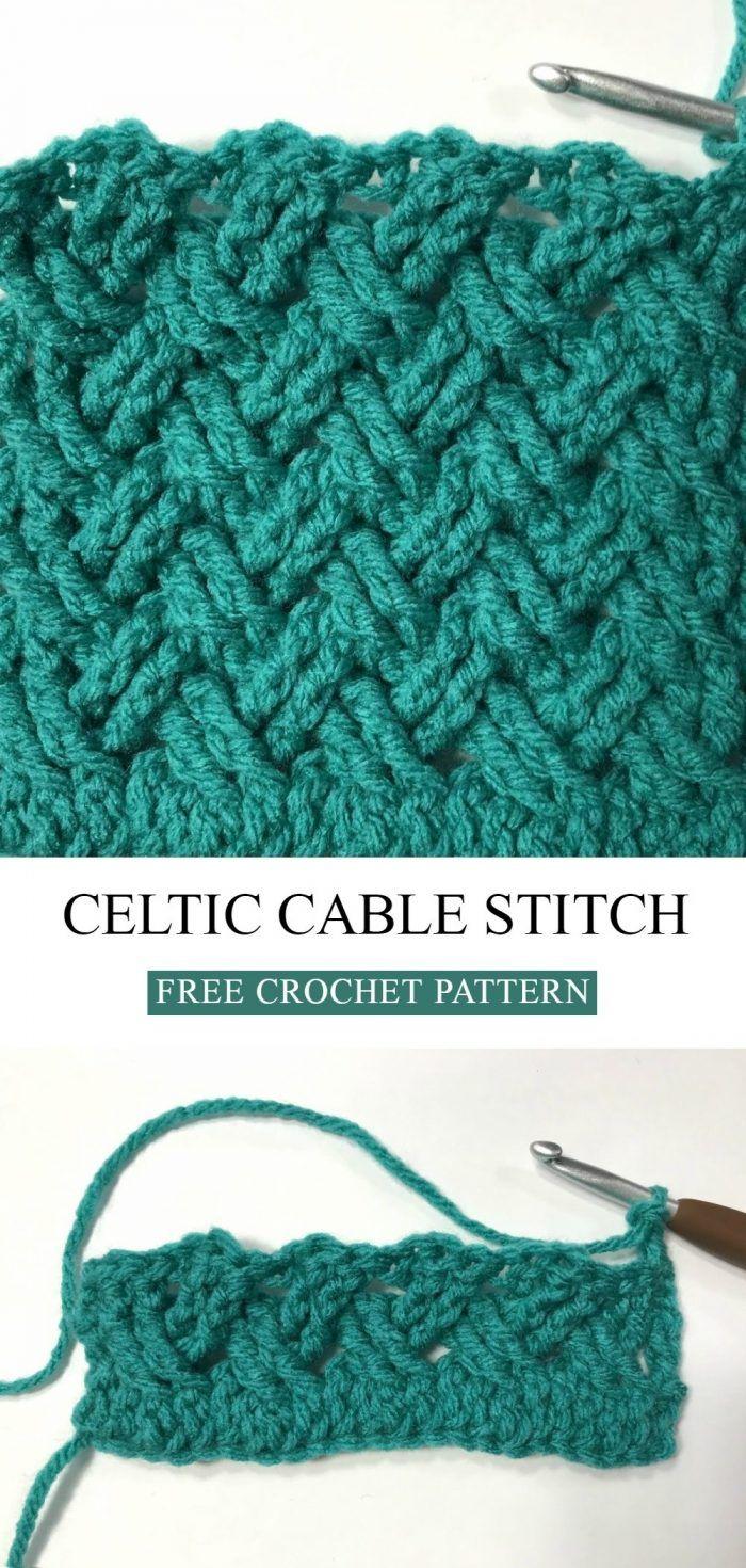 Celtic Stitch Free Crochet Pattern