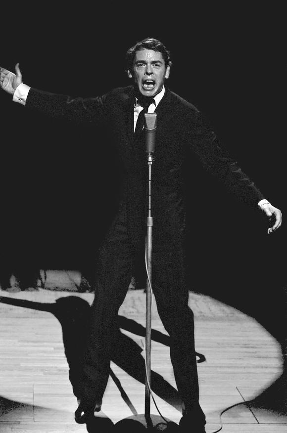 JACQUES BREL A LA MAISON DE LA RADIO, 1966 BRUXELLES