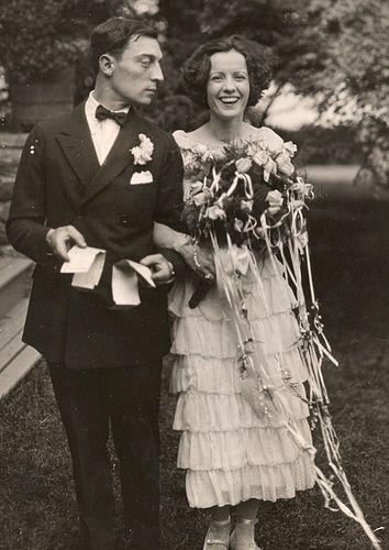 Buster Keaton Born: October 4, 1895 Died: February 1, 1966 & Natalie Talmadge, Born: April 29, 1896 Died: June 19, 1969 1921
