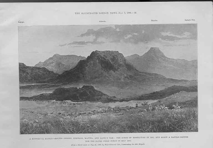 This Day in History: Feb 8, 1881: Boers defeat British in the Battle of Ingogo (Battle of Schuinshoogte) http://dingeengoete.blogspot.com/ http://www.old-print.com/mas_assets/full/4761900021.jpg
