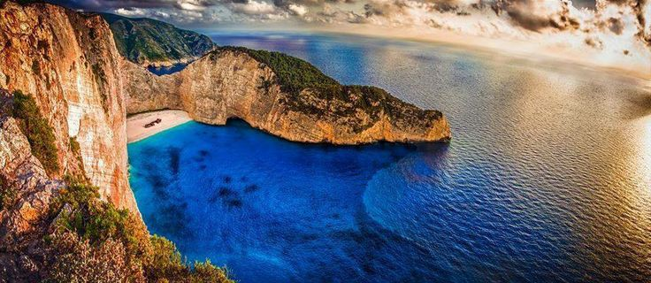 "Navagio ""Shipwreck"" Beach on the island of Zante, Greece CallGreece.gr"