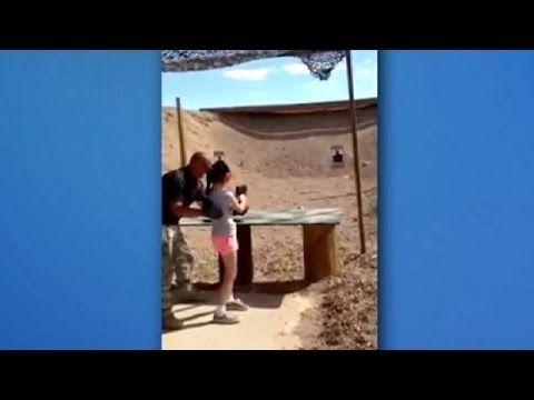 A 9 ans, elle tue son instructeur par accident avec un fusil-mitrailleur