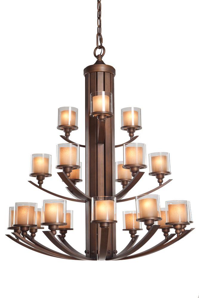 sierra collection 21 light chandelier by artcraft lighting