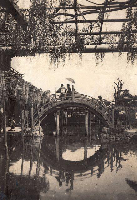 kameido tenjin shrine, tokyo 1918