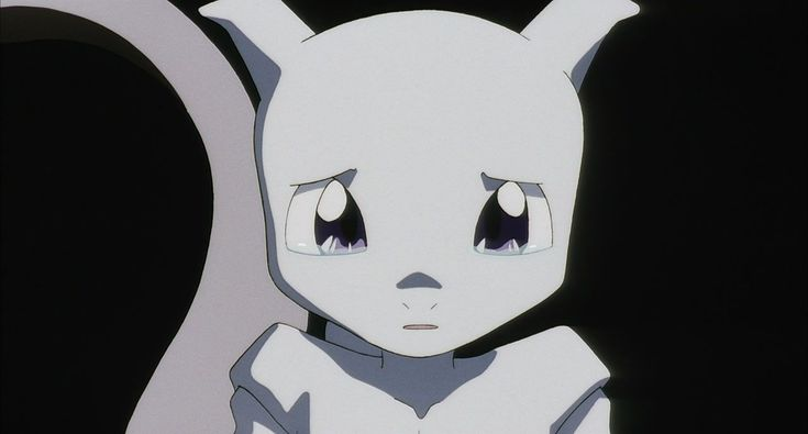 #Mewtwo cries after watching Amber and the Bulbasaur, Squirtle and Charmander clones slip away in #Pokemon the First Movie Prologue: Origin of Mewtwo. http://www.pokemondungeon.com/movies/pokemon-the-first-movie-mewtwo-strikes-back