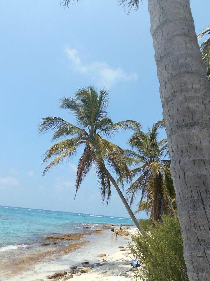#Strand auf der Insel #SanAndres #Kolumbien #Reisen #Reiselust