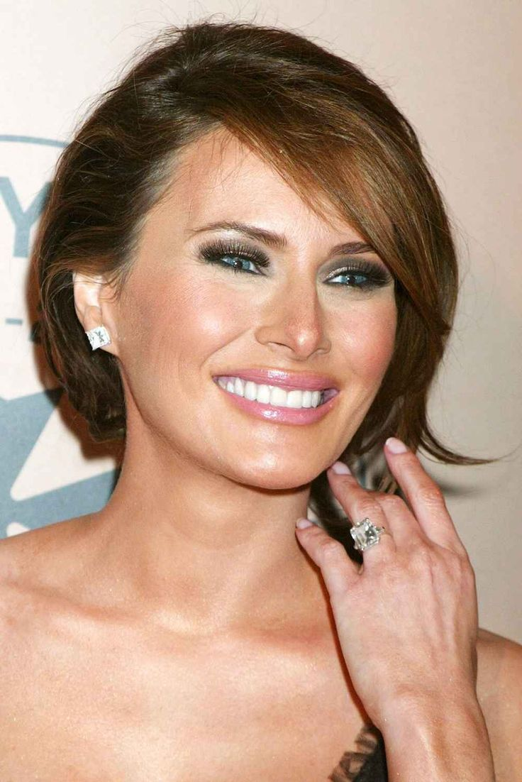 When Melania Knauss became a Trump, she was welcomed with a 15-karat, $3 million rock. That's what they mean by the family stone, right?