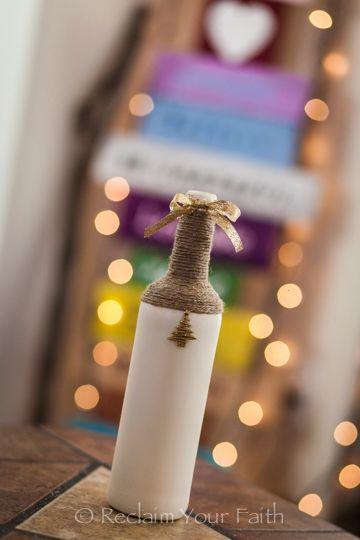 Wine bottle crafts #winebottles #winebottlecrafts  #giftideas #wine #holidaycrafts