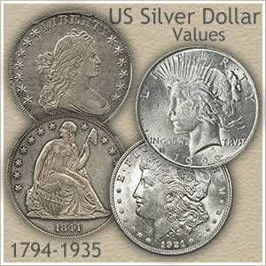 Surprising Silver Dollar Values #coin #card #for #sale http://coin.remmont.com/surprising-silver-dollar-values-coin-card-for-sale/  #silver dollar # Silver Dollar Values Silver dollar values are on the move. Precious metals, gold and silver, are on the move. Collectible coins are on the move. All moving upward. Today's prices are surprisingly high, with silver at $17.61 an ounce, all silver dollars minted prior to 1936 are worth a minimum of $21.25Read More