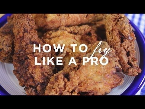 With the help of our Online Cooking School, we'll teach you how to fry crispy, juicy fried chicken—safely and successfully—from the comfort of your own kitchen: