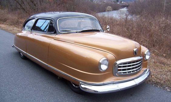 Pictures of 50s Cars | 1950 Nash Statesman 2-Door Sedan