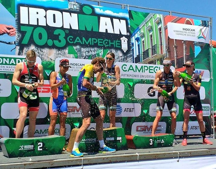 Canadians storm the podium at Ironman 70.3 Campeche - Triathlon Magazine Canada