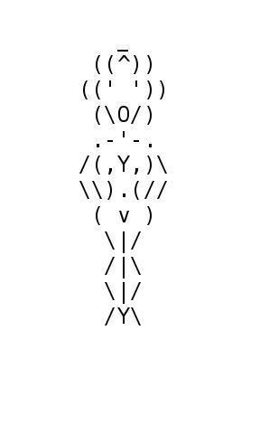 Naked Women Ascii Art 68