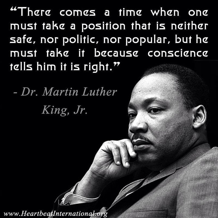 For Martin Luther King Jr. Day