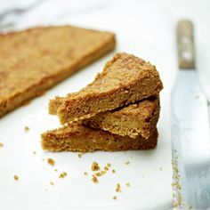 DELIA - GRASMERE GINGER SHORTBREAD.. I will always be grateful to the Hunter family in Cumbria who served these in their lakeside hotel, and who kindly gave me the recipe because I loved them so much.