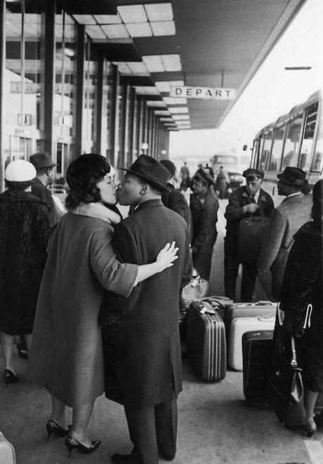 Coretta Scott King & Martin Luther King Jr.