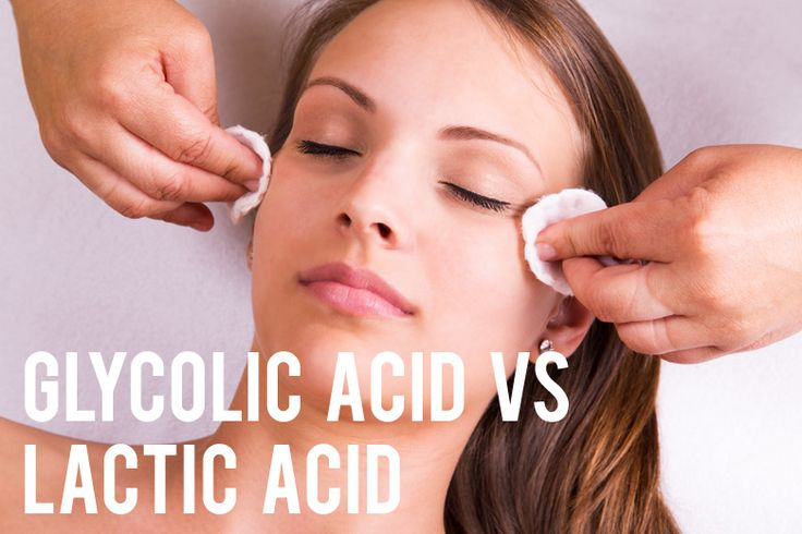 Glycolic Acid vs Lactic Acid: What's The Difference and Which One's Better