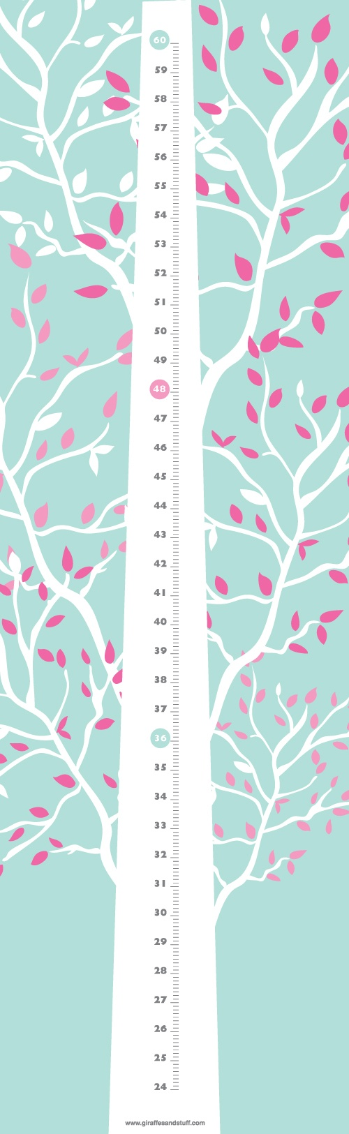 The 25 best growth chart for babies ideas on pinterest baby wonder tree tree with branches growth height nvjuhfo Gallery