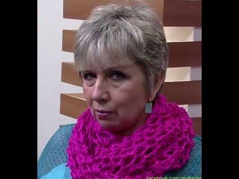 Vitória Quintal no Armarinho São José - Tutorial de cachecol com lã Cisne Fillati - YouTube
