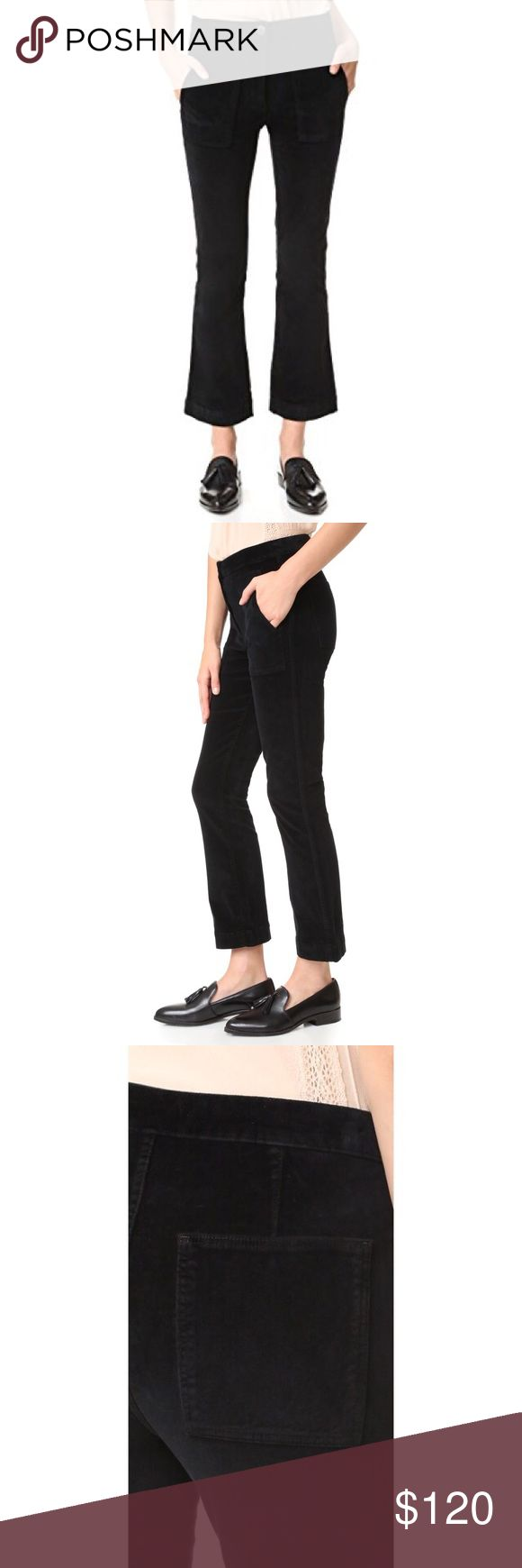 3x1 Black Crop Pants Brand new with tag crop pants with exaggerated pockets 3x1 Pants Ankle & Cropped