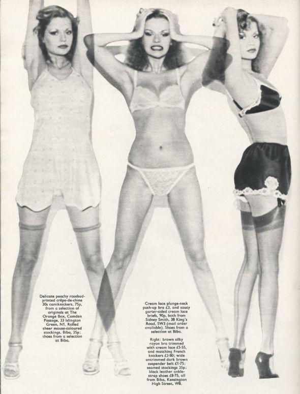 Honey magazine, December 1974..