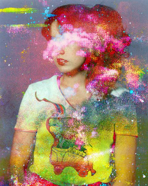 Dana by TchmoClouds, Artists, Tchmo, Inspiration, True Colors, Artworks, Art Sul-Africana, Saturated Colors, Art Prints