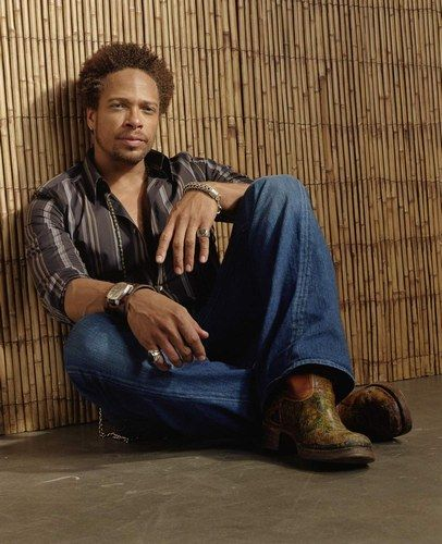 Gary Dourdan who played Warrick on CSI. He was amazing and one of my favorites. He's hot too.
