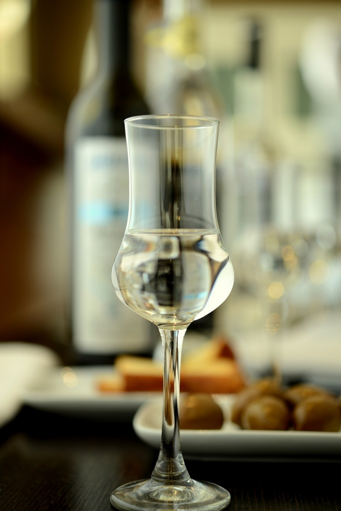 "A great collection of fine ""tsipouro"" is waiting for you at the Elefsina Lounge Cafe.  Tsipouro is a  is a strong distilled spirit containing approximately 40 percent alcohol by volume and is produced from the pomace (grape residue) or whole grapes."