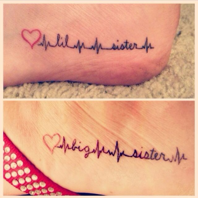 17 best images about big sister little sister tattoos on for Big sister and little sister tattoos