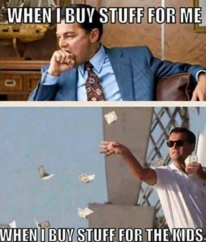 Grapje geld uitgeven