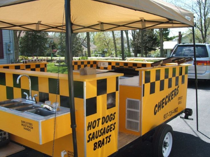 About the E-Z Built Hot Dog Cart Video and Plans Package