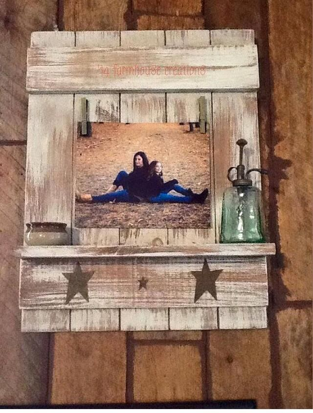 Picture holder #O'Chalky | ~Wall Art~ | Pinterest ...