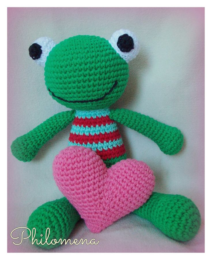 Felix the frog de Philomena