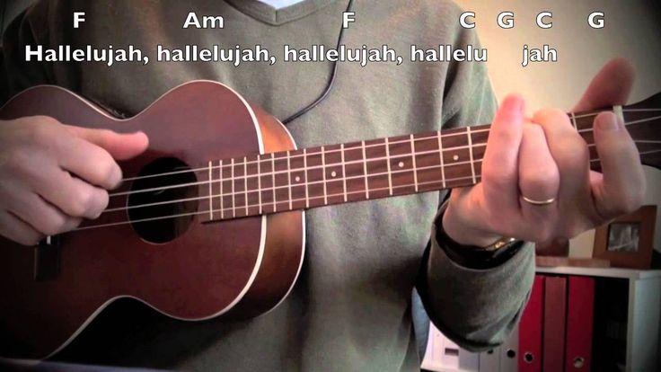 25+ best ideas about Hallelujah Guitar Chords on Pinterest : Ukulele songs, Ukulele instrument ...