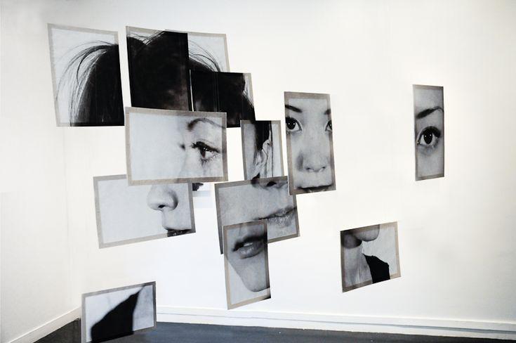 Portraits en photo-sculpture - Izumi en suspension- Brno Del Zou